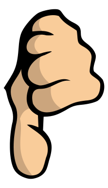 Thumbs down clipart free picture library Thumbs Up Thumbs Down Clipart - Clipart Kid picture library