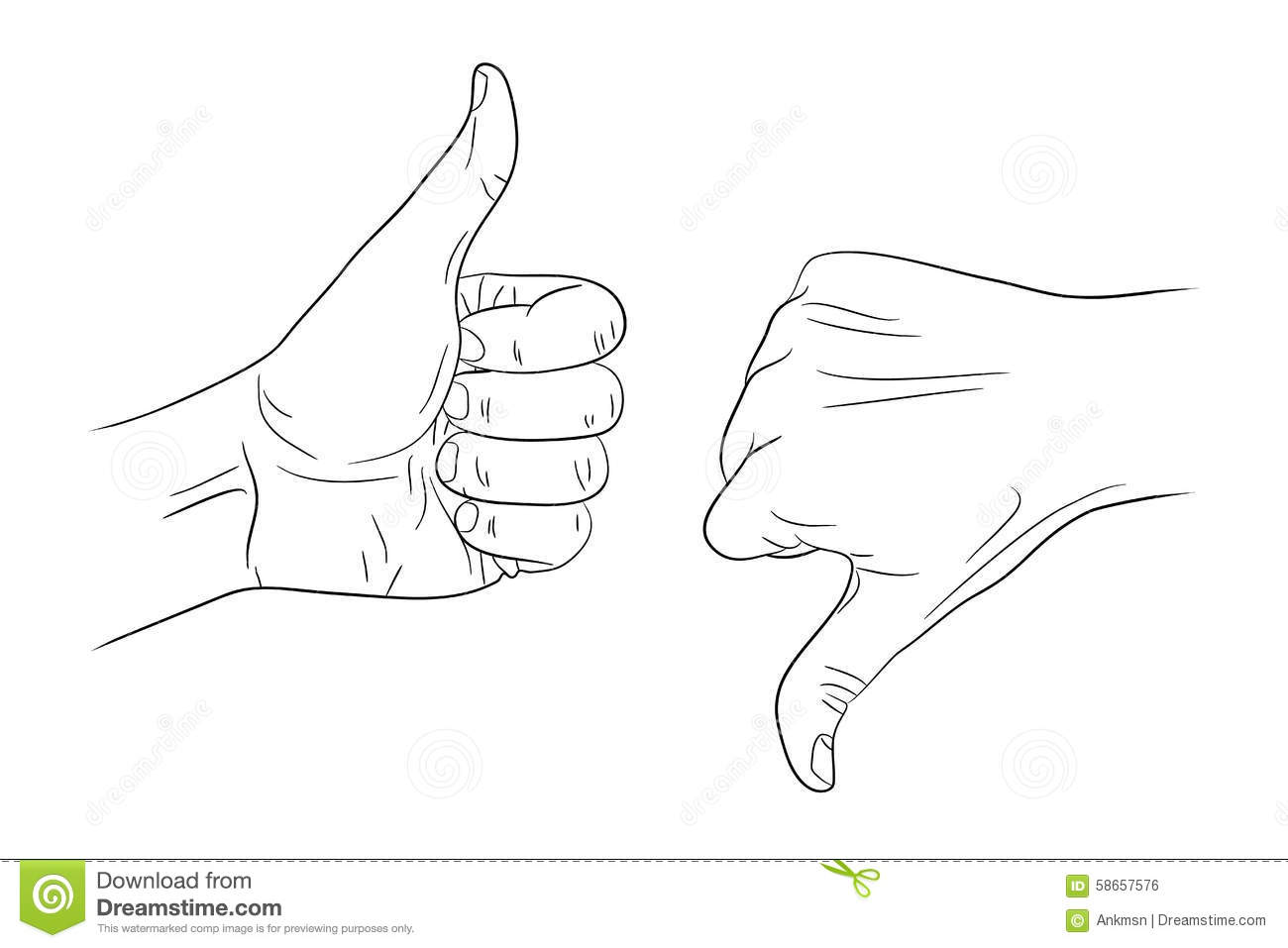 Thumbs down outline clipart png transparent stock Thumbs down outline clipart - ClipartFest png transparent stock