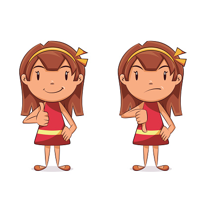 Thumbs up and down clipart picture free stock Girl thumbs up clipart - ClipartFest picture free stock