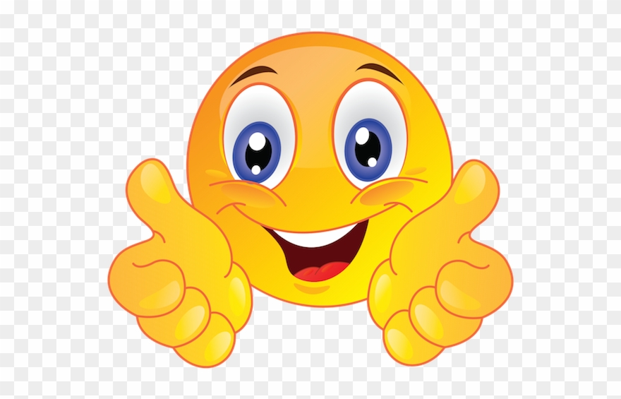 Thumbs up clipart emoji transparent In Short, The Usage Of Emoji\'s Should Be Considered - Smiley ... transparent