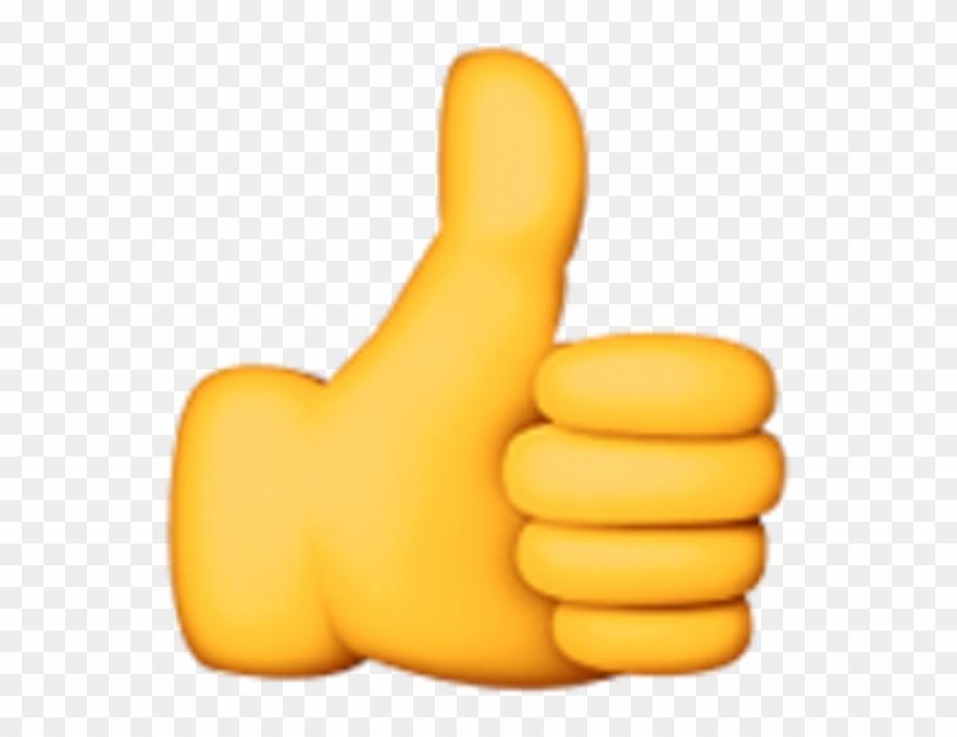 Thumbs up clipart emoji transparent download Finger Up Emoji Clipart Explore Pictures - Thumbs Up Apple ... transparent download