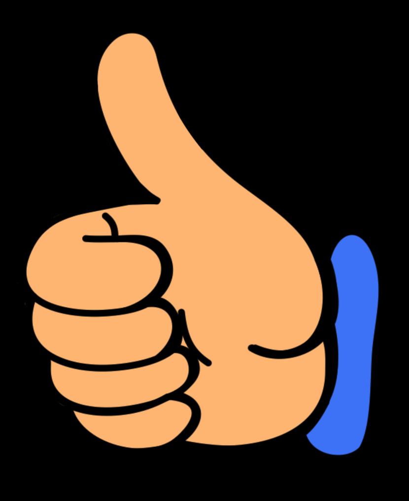 Thumbs up clipart free png transparent stock Up Clipart Free Clip art of Thumbs Up Clipart #1518 — Clipartwork png transparent stock