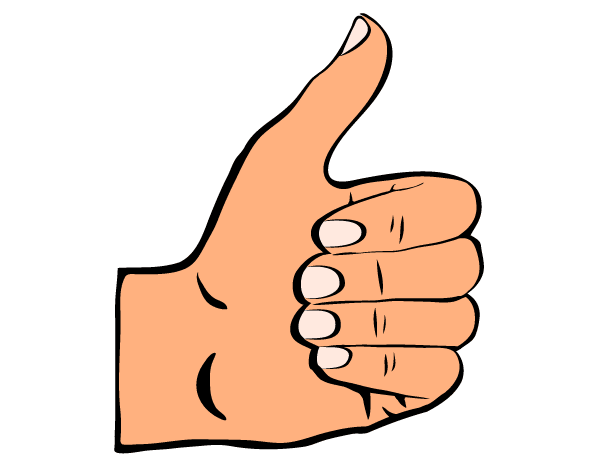 Thumbs up clipart png