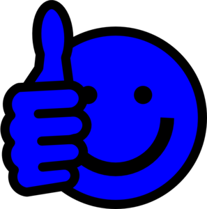 Thumbs up clipart smiley clip royalty free download Smiley Face Thumbs Up Clipart Black And White | Clipart Panda ... clip royalty free download