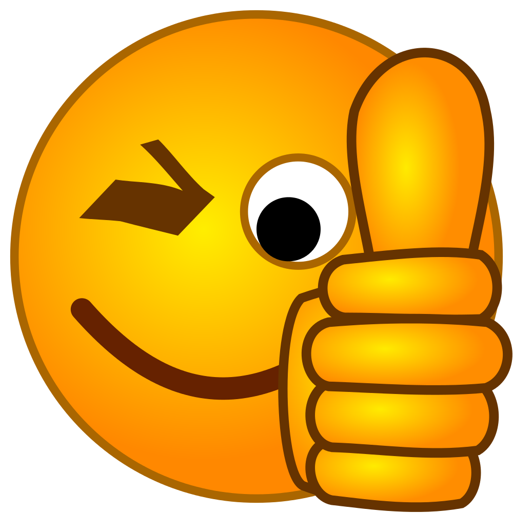 Thumbs up clipart smiley image royalty free download File:SMirC-thumbsup.svg - Wikimedia Commons image royalty free download