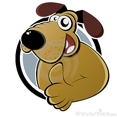Thumbs up dog clipart clip transparent download Funny Dog With Thumb Up Stock Image - Image: 29185341 clip transparent download