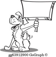 Thumbs up dog clipart vector royalty free library EPS Illustration - Dog clip art holding thumbs up. Vector Clipart ... vector royalty free library