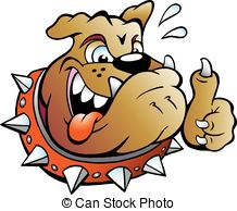 Thumbs up dog clipart vector freeuse download Vector Clip Art of Dog cartoon giving thumbs up - An illustration ... vector freeuse download