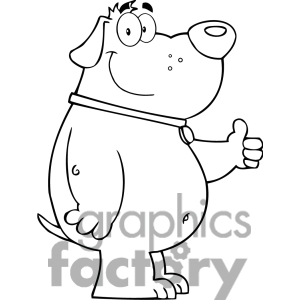 Thumbs up dog clipart png transparent download Dog Thumbs Up Clipart - Clipart Kid png transparent download