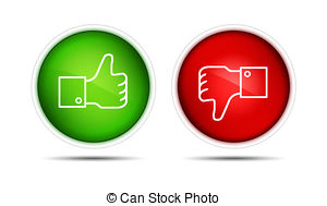 Thumbs up down clipart image library library Thumbs up down buttons buttons Illustrations and Clip Art. 1,025 ... image library library