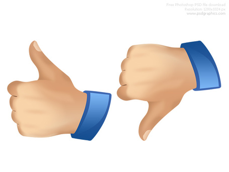 Thumbs up down clipart jpg royalty free stock PSD thumbs up and down icons, Vector Graphic - Clipart.me jpg royalty free stock