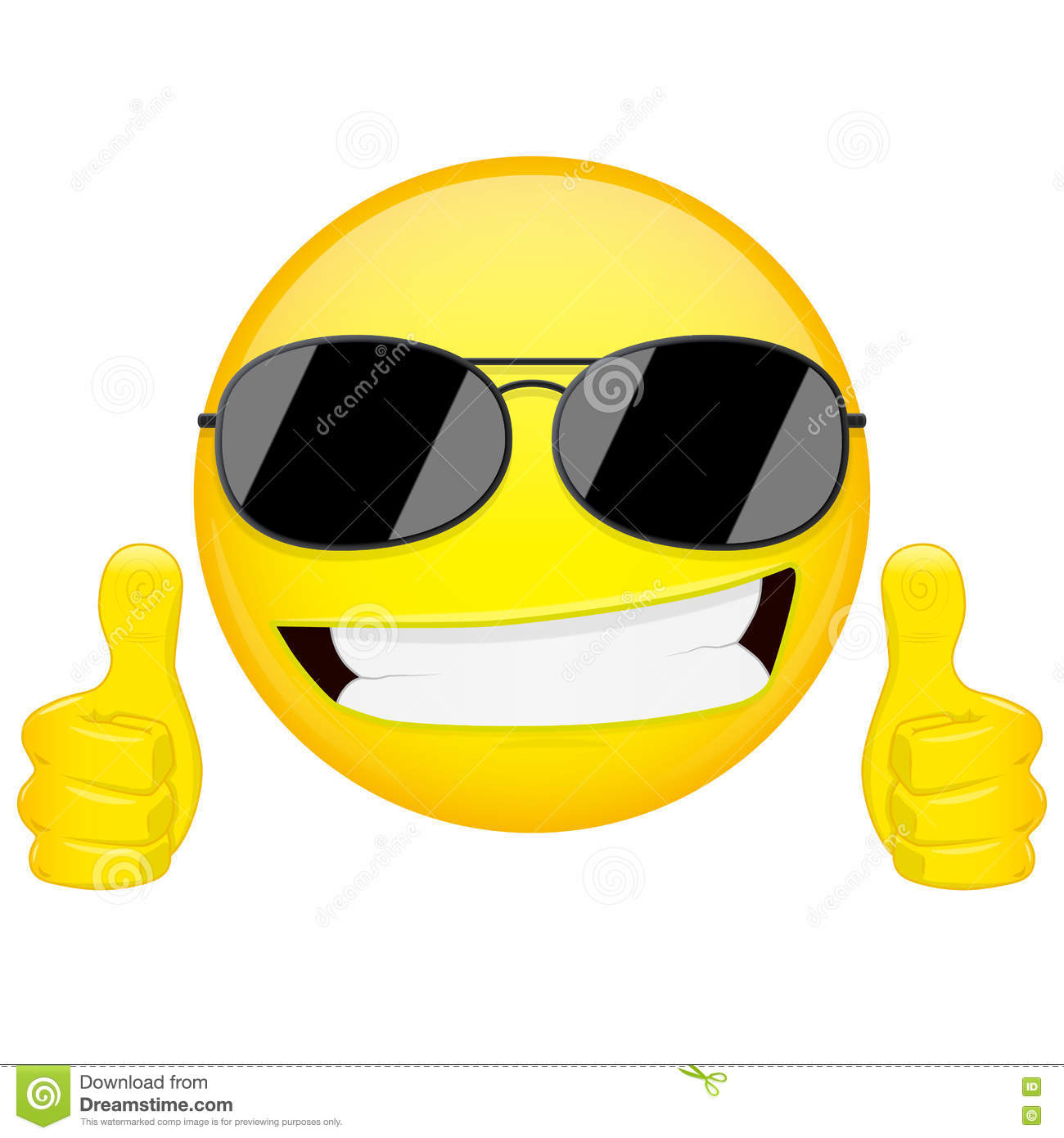 Thumbs up emoji image royalty free download Thumbs Up Emoticon Emoji Stock Vector - Image: 57859992 image royalty free download