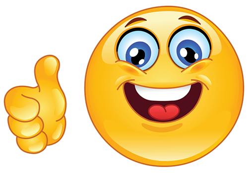 Thumbs up emoji jpg transparent library Thumbs up emoji clipart - ClipartFest jpg transparent library
