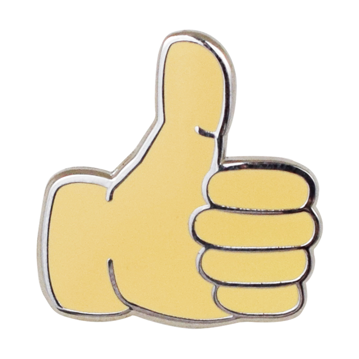 Thumbs up emoji svg free library Thumbs Up Emoji Pin – Emoji Pins svg free library