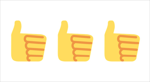 Thumbs up emoji clipart library 21+ Bring out the Optimism in you with the Thumbs up Emoji   Free ... clipart library