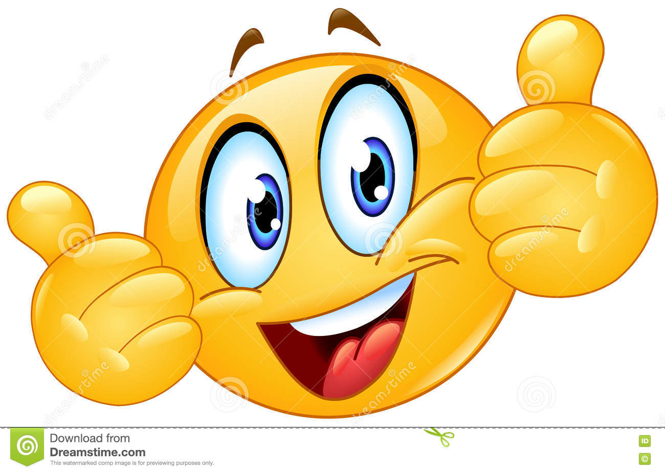 Thumbs up emoji svg freeuse library Thumbs Up Emoticon Emoji Stock Vector - Image: 57859992 svg freeuse library