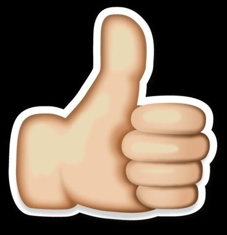 Thumbs up emoji clipart image freeuse Thumbs up emoji clipart - ClipartFest image freeuse