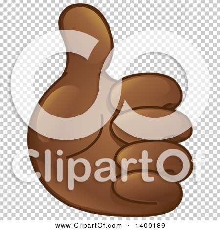 Thumbs up emoji clipart vector transparent download Clipart of a Smiley Emoji Hand Holding a Thumb up - Royalty Free ... vector transparent download