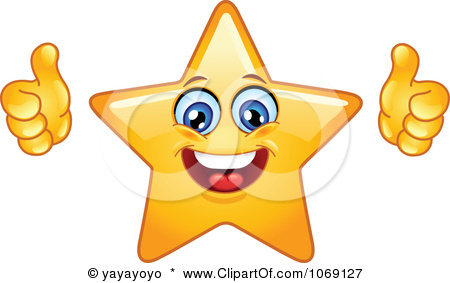 Thumbs up emoji clipart clip black and white library Star Thumbs Up Clipart - Clipart Kid clip black and white library