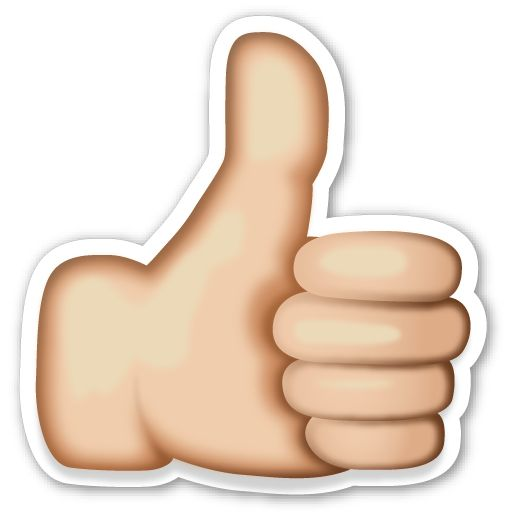 Thumbs up emoji clipart picture black and white download Thumbs up emoji clipart - ClipartFest picture black and white download