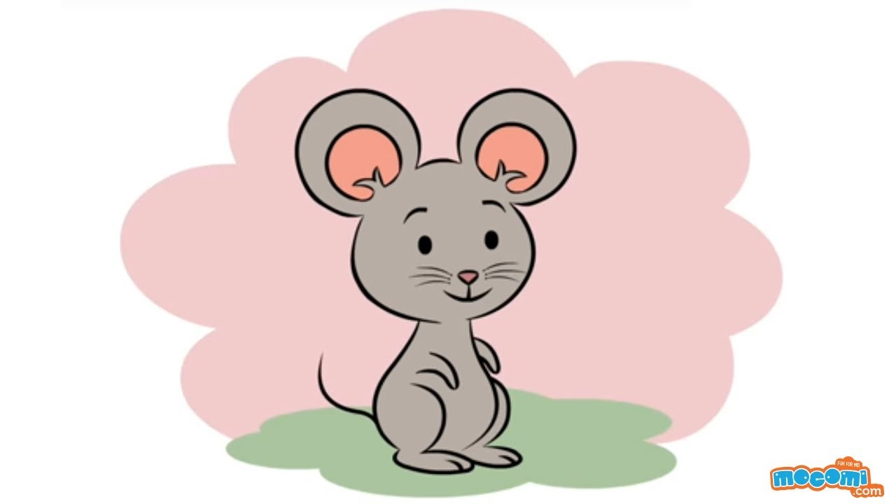 Thumbs up funny clipart mouse image royalty free download How to Draw a Cartoon Mouse - Learn Step By Step Drawing for Kids |  Educational Videos by Mocomi image royalty free download