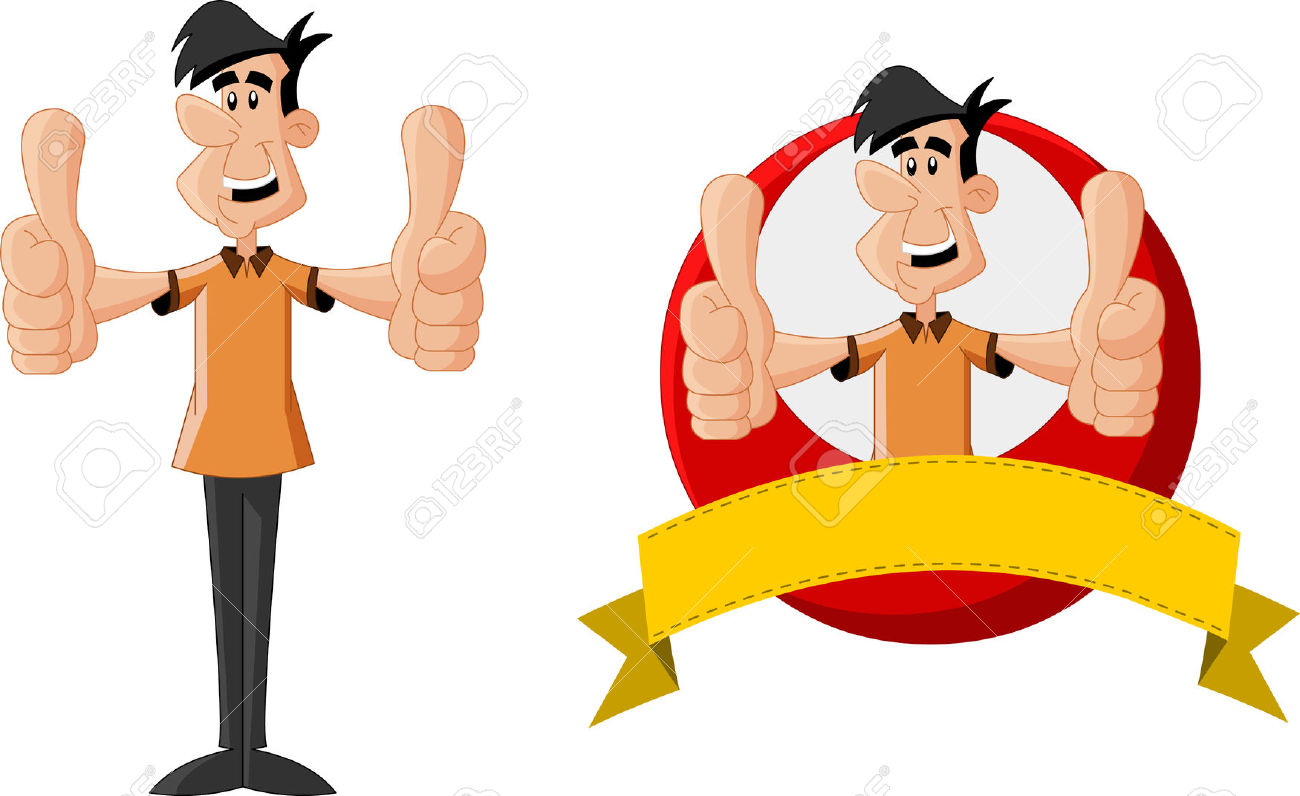 Thumbs up guy clipart clipart freeuse library 7,813 Thumbs Up Man Stock Vector Illustration And Royalty Free ... clipart freeuse library