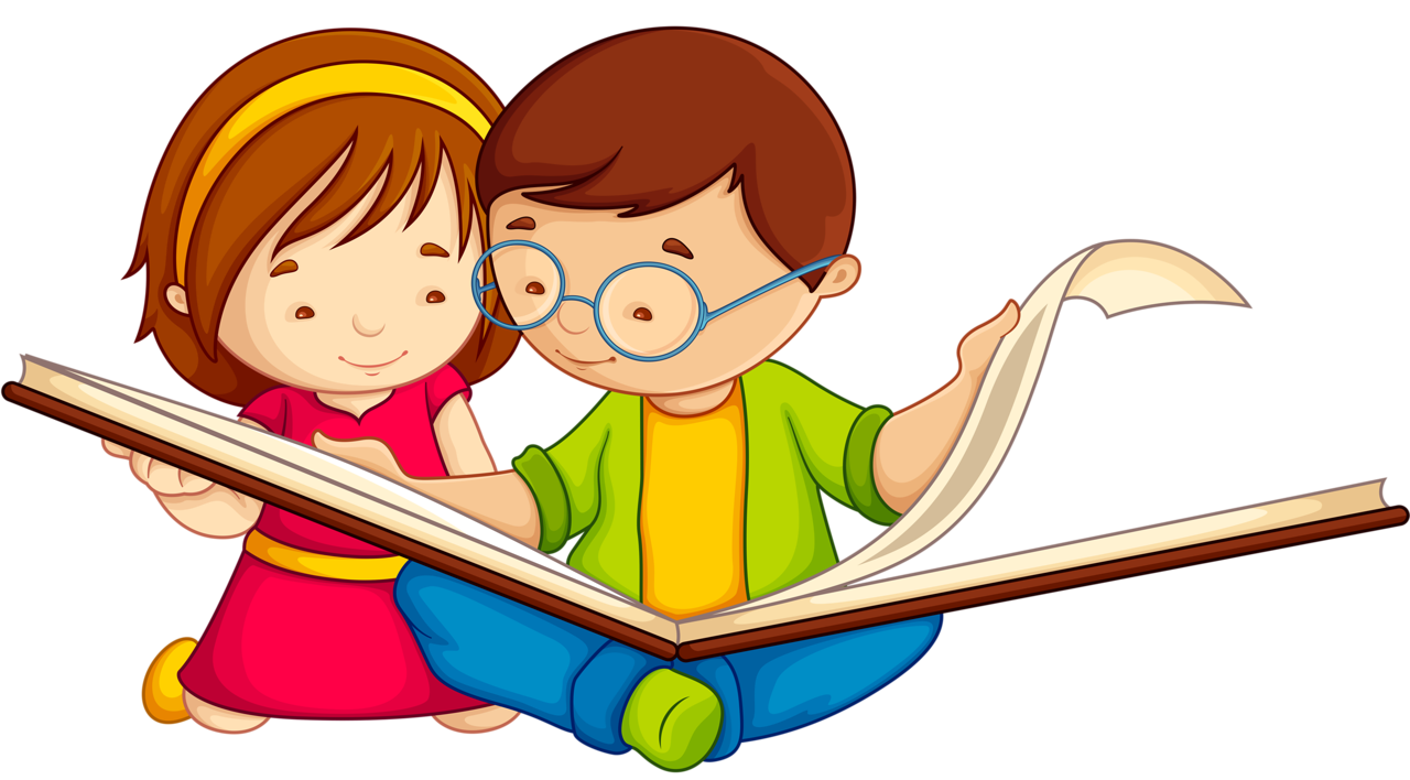 Book read clipart