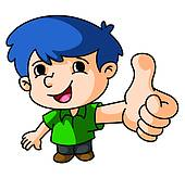 Thumbs up kid clipart royalty free Clip Art of Boy Thumb Up k21663426 - Search Clipart, Illustration ... royalty free