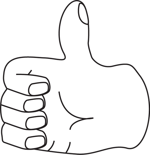 Thumbs up outline clipart clip library stock Thumbs Up Clipart | Free Download Clip Art | Free Clip Art | on ... clip library stock