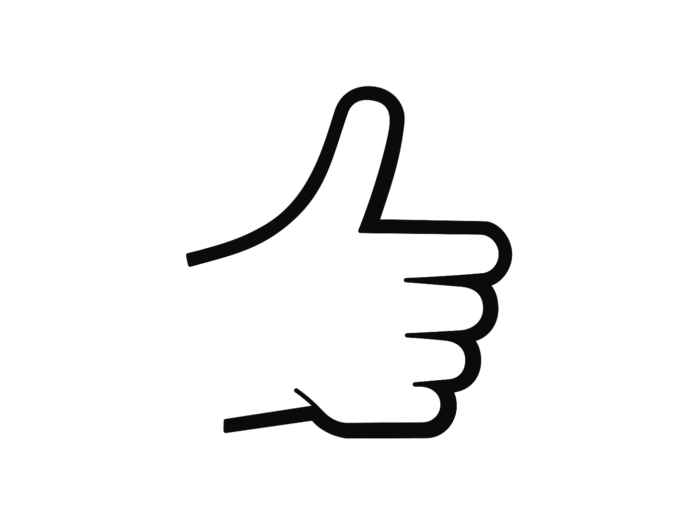 Thumbs up sign clipart svg transparent download Thumbs Up Sign Clipart - Clipart Kid svg transparent download