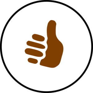 Thumbs up sign clipart vector free library Thumbs Up Symbol Clip Art at Clker.com - vector clip art online ... vector free library