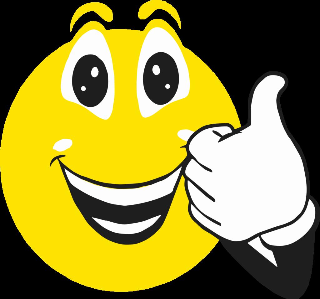 Thumbs up smiley face clip art vector stock Smiley Face Clip Art Thumbs Up - mayhanrobot.net vector stock