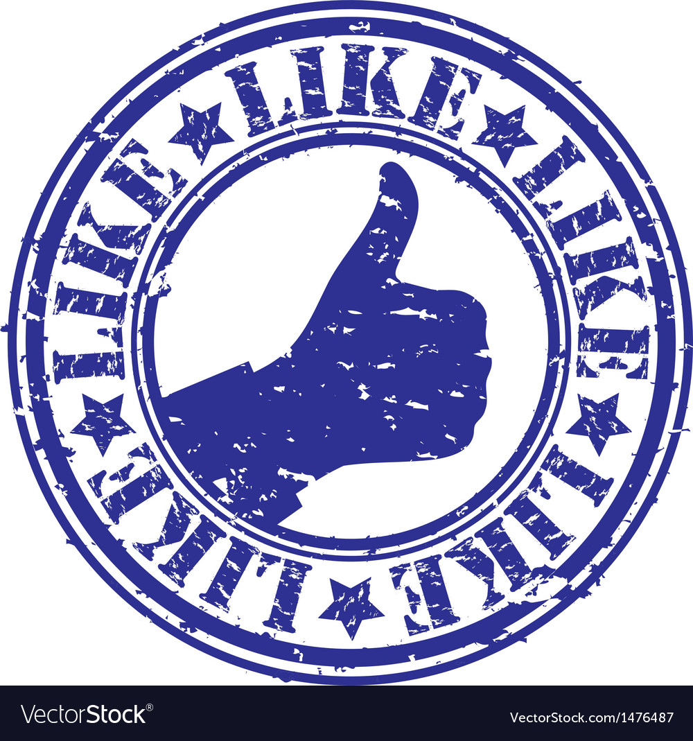 Thumbs up stamp clipart png stock Like thumbs up stamp png stock