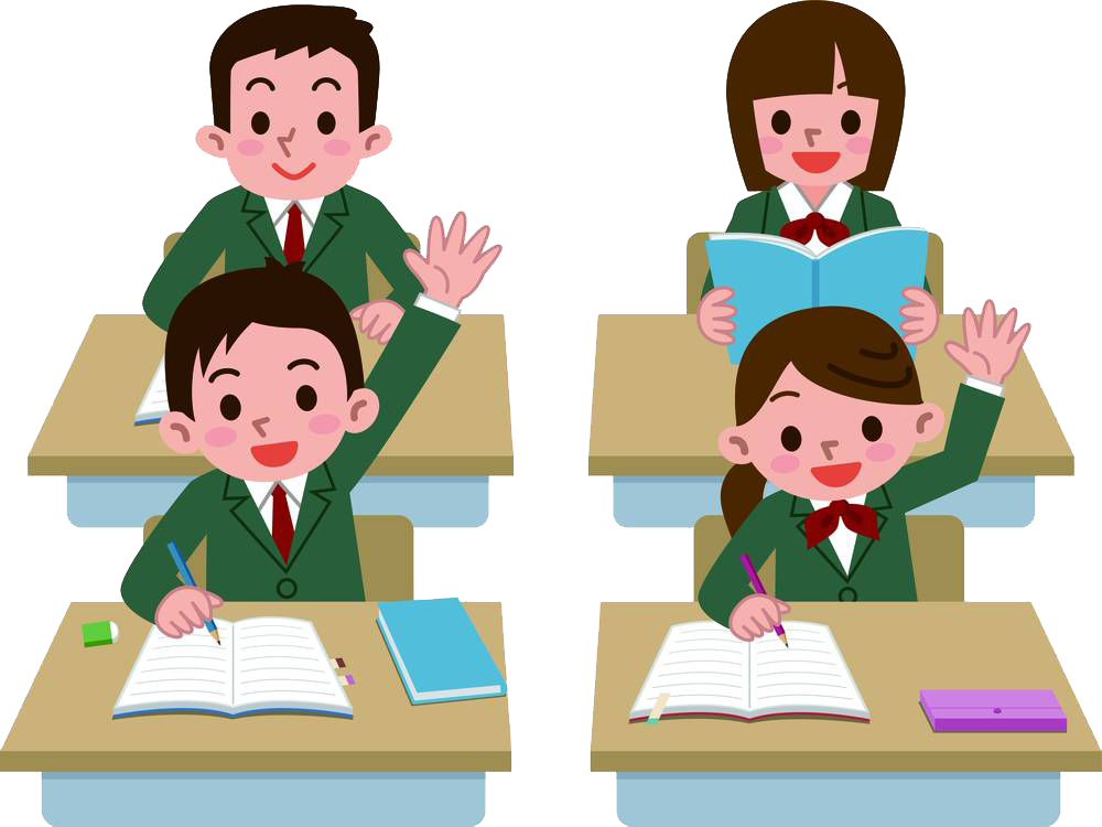Student with apple clipart vector transparent download Student Royalty-free Class Clip art - Hands up students 1000*750 ... vector transparent download