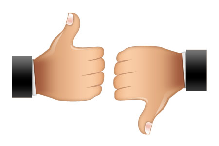 Thumbs up thumbs down black background clipart free free download Thumbs Up Thumbs Down Clipart - Clipart Kid free download