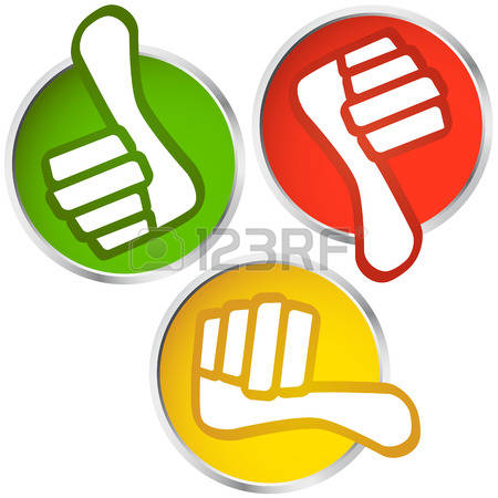 Thumbs up thumbs down clipart picture transparent Thumb Down Images & Stock Pictures. Royalty Free Thumb Down Photos ... picture transparent