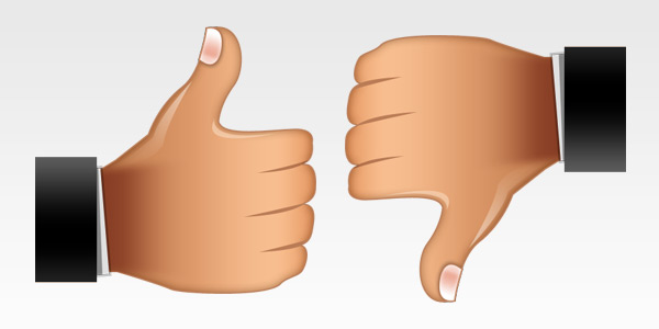 Thumbs up thumbs down clipart free graphic freeuse Thumbs up and thumbs down clipart - ClipartFest graphic freeuse