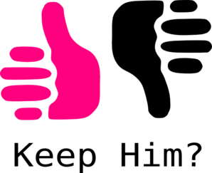 Thumbs up thumbs down clipart free jpg library library Thumbs Up Thumbs Down Pink And Black Clip Art at Clker.com ... jpg library library