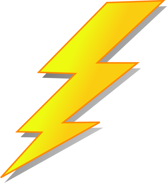 Thunder bolt clipart picture freeuse download Thunderbolt Clipart | Free download best Thunderbolt Clipart ... picture freeuse download