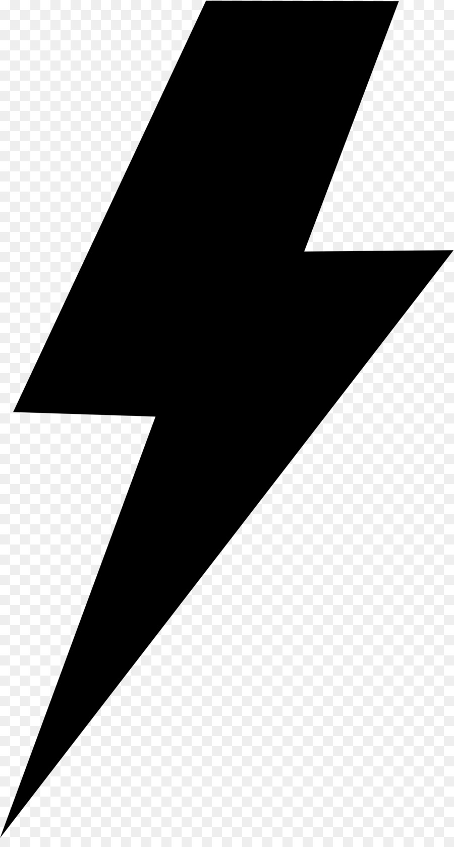 Thunder bolt clipart clip art free stock Lightning Cartoon clipart - Lightning, Black, Triangle ... clip art free stock