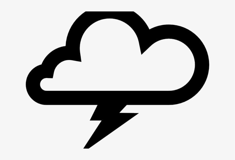 Thunder cloud pictures clipart clip freeuse library Thunderstorm Clipart Lightning Bolt - Thunder Cloud Vector ... clip freeuse library