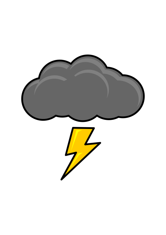 Thunder cloud pictures clipart jpg freeuse library Free Clipart: Thundercloud | halattas jpg freeuse library