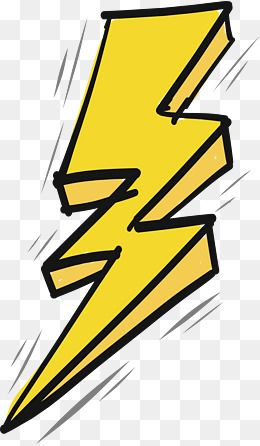 Thunder vector clipart picture royalty free download 2019 的 Thunder And Lightning Effect, Vector Png, Yellow ... picture royalty free download
