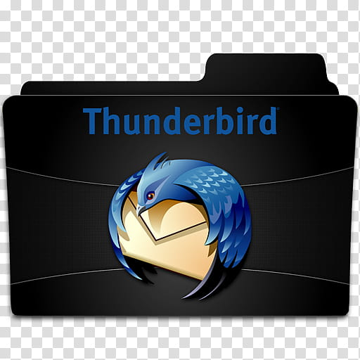 Thunderbird mail clipart jpg royalty free Programm , Mozilla Thunderbird folder art transparent ... jpg royalty free