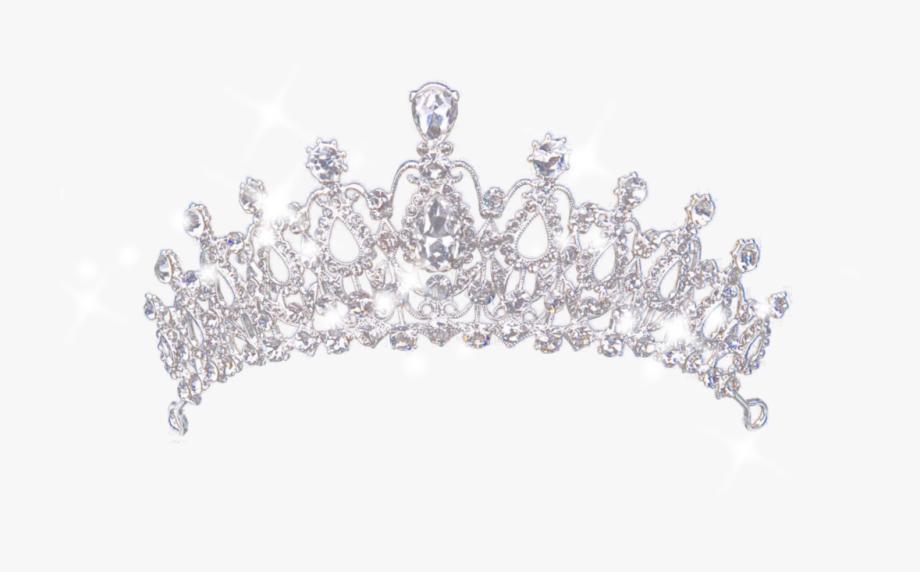 Tiara clipart transparent background white jpg library queen #freddiemercury #tiara #silver #sparkle #princess ... jpg library