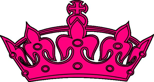 Tiara hot pink clipart clip art download Hot Pink And Black Crown Clip Art at Clker.com - vector clip ... clip art download