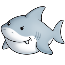 Tiburon free clipart jpg freeuse download great white | fluff favourites | Animal drawings, Shark ... jpg freeuse download