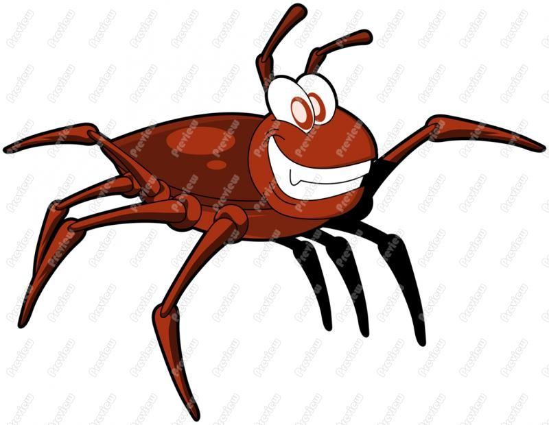 Tick bug clipart jpg library Gallery For > Tick Cartoon Insect   camping   Ticks, Insects ... jpg library