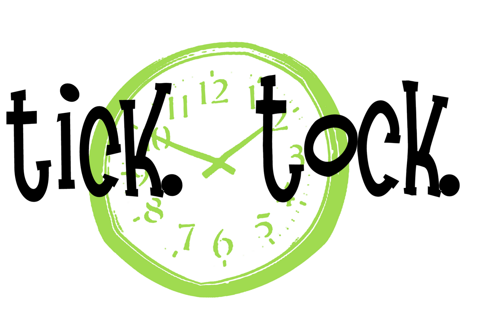 Tick tock clipart svg freeuse stock Green tick tick tock clock clipart clipartfest - ClipartBarn svg freeuse stock