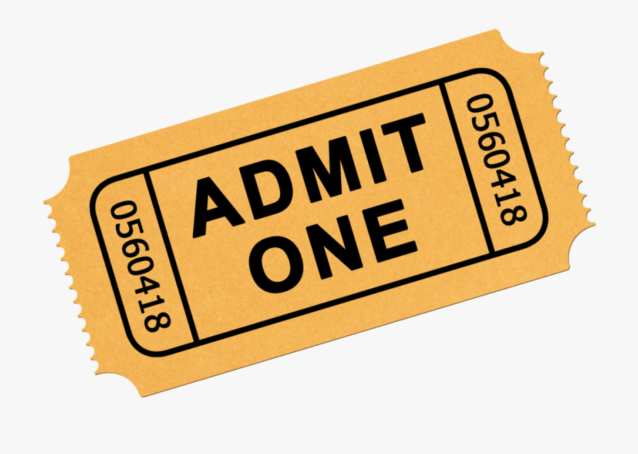 Ticket image clipart jpg free stock Pictures Of Tickets Clipart - Clip Art Admit One Ticket ... jpg free stock